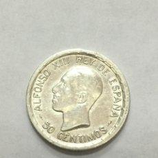 Monedas de España: ALFONSO XIII - 50 CENTIMOS PCS - 1926 - SIN CIRCULAR - BRILLO ORIGINAL . Lote 194384593