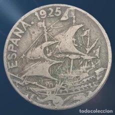 Monedas de España: 25 CÉNTIMOS ALFONSO XIII 1925 BARCO MONEDA ESPAÑA. Lote 194393045