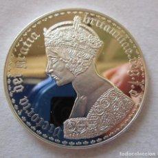 Monedas de España: VICTORIA DEI GRATIA . MEDALLA DE PLATA DE MAXIMA CALIDAD . FDC. Lote 194525971