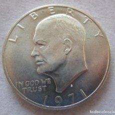 Monedas de España: ESTADOS UNIDOS . UN DOLAR DE PLATA TOTALMENTE NUEVO . TAMAÑO DE UNA ONZA. Lote 194529085
