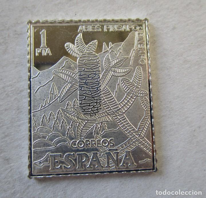 SELLO DE ESPAÑA EN PLATA DE 925 MM. NUEVO (Numismática - España Modernas y Contemporáneas - De Isabel II (1.834) a Alfonso XIII (1.931))
