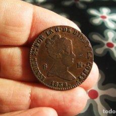 Monedas de España: ISABEL II 8 MARAVEDIES 1838 SEGOVIA BONITA. Lote 194597171