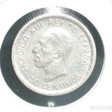Monedas de España: ALFONSO XIII : 50 CÉNTIMOS PLATA 1926 PCS. Lote 194628181