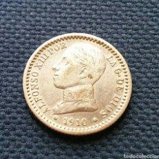 Monedas de España: 50 CÉNTIMOS 1910 *1*0 PLATA. Lote 194629022