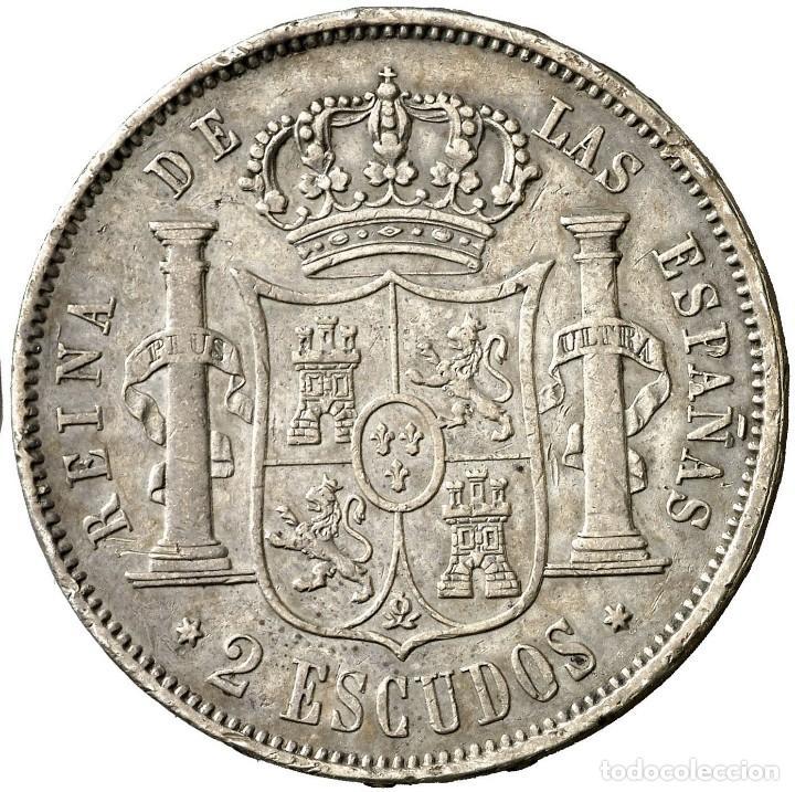 Monedas de España: 2 ESCUDOS ISABEL II 1867 MADRID - Foto 3 - 193811130