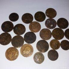 Monedas de España: LOTE 22 MONEDAS ANTIGUAS. Lote 194726033