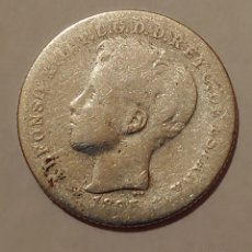 Monedas de España: 20 CENTAVOS DE PESO PUERTO RICO ALFONSO XIII .1985. Lote 194727265