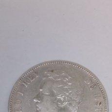 Monedas de España: MONEDA DE PLATA 5PESETAS AÑO 1871. Lote 194770216