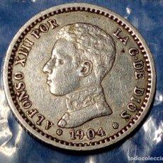 Monedas de España: 50 CENTIMOS ALFONSO XIII 1904. Lote 194896783