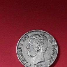 Monedas de España: AMADEO I. 5 PESETAS. 1871 (18-71). Lote 194932596