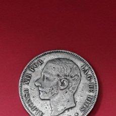 Monedas de España: ALFONSO XII. 5 PESETAS. 1885 (18-87). Lote 194932650
