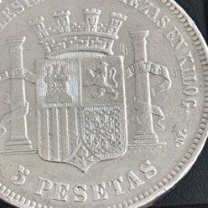 Monedas de España: MONEDA PLATA DE 5 PTA DE 1870 *70 GOBIERNO PROVISIONAL. Lote 194991975