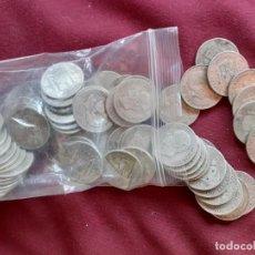 Monedas de España: LOTE DE 70 MONEDAS DE 2 PESETAS DE PLATA. Lote 194999802