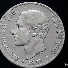 Monedas de España: 2 PESETAS ALFONSO XII 1883 MS M. Lote 195000045