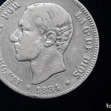 Monedas de España: 2 PESETAS ALFONSO XII 1884 MS M.. Lote 195000112