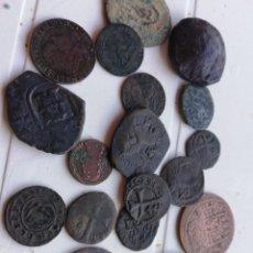 Monedas de España: LOTE MONEDAS MEDIEVALES. Lote 195050196