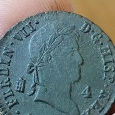 Monedas de España: FERNANDO VII 1829 4 MARAVEDÍS SEGOVIA. Lote 195050307
