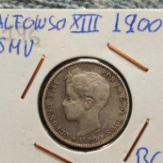 Monedas de España: 1 PESETA 1900 ALFONSO XIII. Lote 195052336