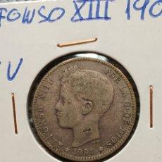 Monedas de España: 1 PESETA 1901 ALFONSO XIII. Lote 195053731