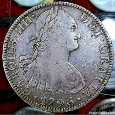 Monedas de España: ESPAÑA / CARLOS IIII 1796 / 8 REAL / MÉJICO-FM-. Lote 195161837