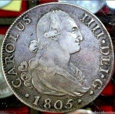 Monedas de España: ESPAÑA / CARLOS IIII 1805 / 8 REAL / MADRID-FA-. Lote 195164428