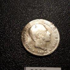 Monedas de España: ESPAÑA 10 CENTAVOS DE PESO 1885, MANILA . Lote 195235981