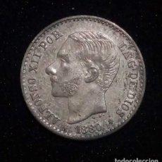 Monedas de España: MONEDA DE 50 CÉNTIMOS DE ALFONSO XII / 1880 *80. Lote 195255612