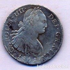Monedas de España: CARLOS IIII 8 REALES 1808 MEXICO. Lote 195314741