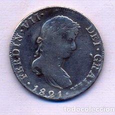 Monedas de España: FERNANDO VII 8 REALES 1821 MEXICO. Lote 195315042