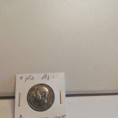 Monedas de España: MONEDA DE 2 PESTAS ALFONSO XII 1879+18*79. Lote 195372346