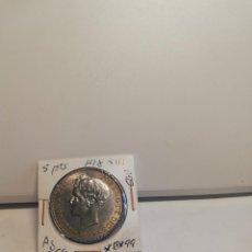 Monedas de España: MONEDA DE PLATA 5 PESETAS ALFONSO XIII 1899*18*99. Lote 195372830