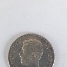 Monedas de España: 1871 5 PESETAS AMADEO I DURO DE PLATA 18 71. Lote 195402665
