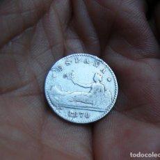 Monedas de España: I REPUBLICA MONEDA DE 50 CTMOS. 1870 PLATA --RARA--. Lote 195409843