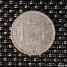 Monedas de España: 50 CÉNTIMOS DE PLATA 1904 ESPAÑA. MBC. Lote 195410658