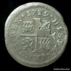 Monedas de España: FELIPE V, 1/2 REAL DE PLATA DE CUENCA, 1719 - 16 MM / 1.22 GR.. Lote 195416090