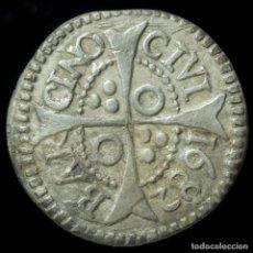 Monedas de España: CARLOS II, 1 CROAT DE PLATA DE BARCELONA, 1682 - 21 MM / 2.37 GR.. Lote 195416321
