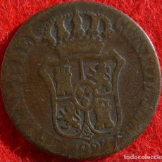 Monedas de España: 3 CUARTOS DE FERNANDO VII (BARCELONA 1823). Lote 195419922