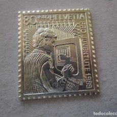 Monedas de España: HELVETIA . SELLO DE PLATA PURA 999,9 .. Lote 195456261