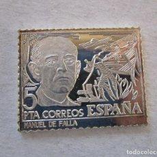 Monedas de España: SELLO DE ESPAÑA EN PLATA DE 925 MM. NUEVO. Lote 195459390