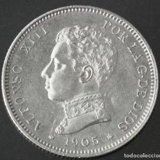 Monedas de España: ALFONSO XIII - 2 PESETAS 1905 (*19 - 05). Lote 195464578