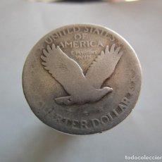 Monedas de España: UN CUARTO DE DOLAR A CATALOGAR . PLATA. Lote 195466592