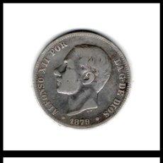 Monedas de España: ESPAÑA. 2 PESETAS 1879 EM-M (PLATA) MBC-. Lote 195499532