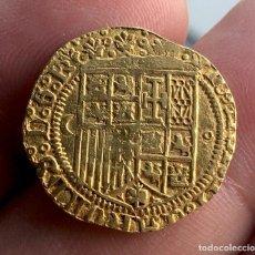 Monedas de España: ¡¡ MUY RARA !! MONEDA DE ORO DE 1 ESCUDO DE JUANA Y CARLOS. CECA BURGOS. C - 0. Lote 195508673
