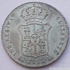 Monedas de España: MEDALLA DE PLATA ISABEL II. 1833. ACLAMACIÓN. MADRID !! SIN CIRCULAR !! LUJO !!. Lote 195518693