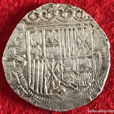 Monedas de España: 2 REALES DE LOS REYES CATÓLICOS - SEVILLA - 6,84G AG - MBC - CON CERTIFICADO DE AUTENTICIDAD. Lote 195538326