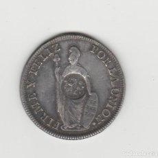 Monedas de España: FERNANDO VII- 8 REALES-1831-ACUÑADA SOBRE MONEDA DE PERU. Lote 195908627