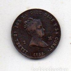Monedas de España: ISABEL II. 2 MARAVEDÍS. AÑO 1858. CECA DE BARCELONA.. Lote 195925571