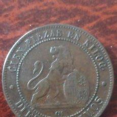 Monedas de España: 10 CENTIMOS 1870.. Lote 196284988