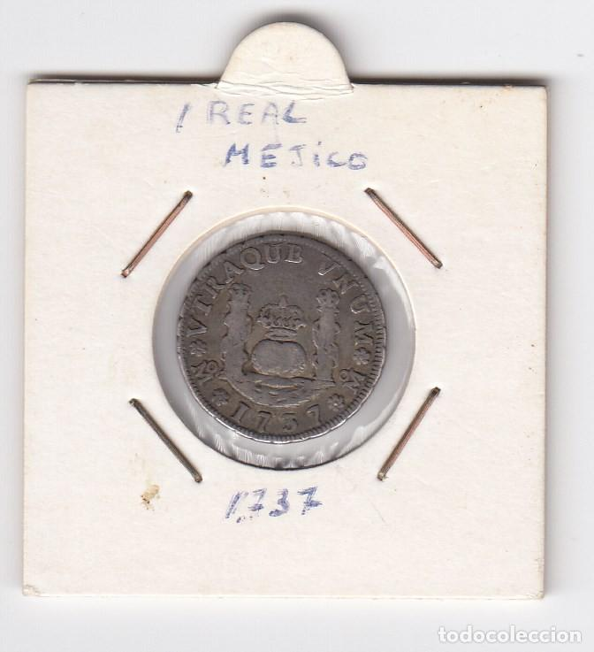 1 REAL - COLUMNARIO (PLATA) FELIPE V 1737 CECA MEJICO - MF EBC- (Numismática - España Modernas y Contemporáneas - De Reyes Católicos (1.474) a Fernando VII (1.833))
