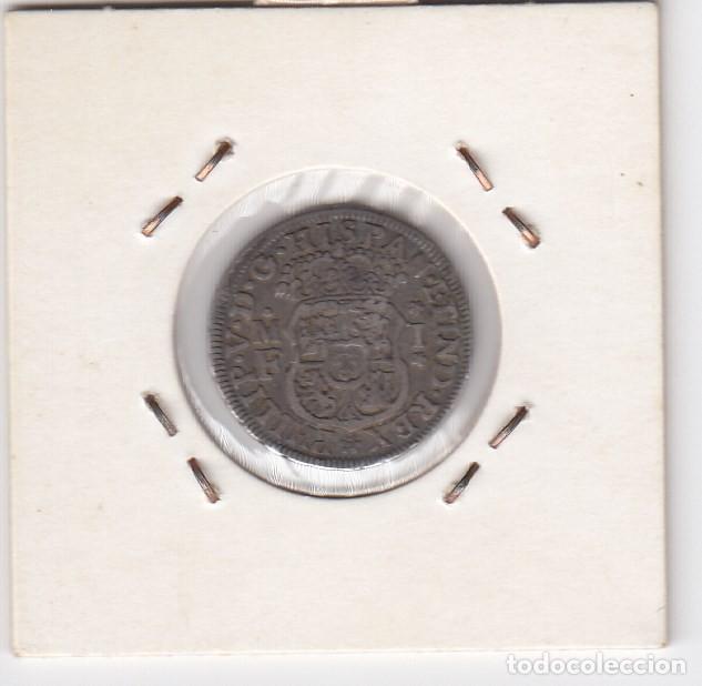 Monedas de España: 1 real - columnario (plata) felipe v 1737 ceca mejico - mf ebc- - Foto 2 - 196332626